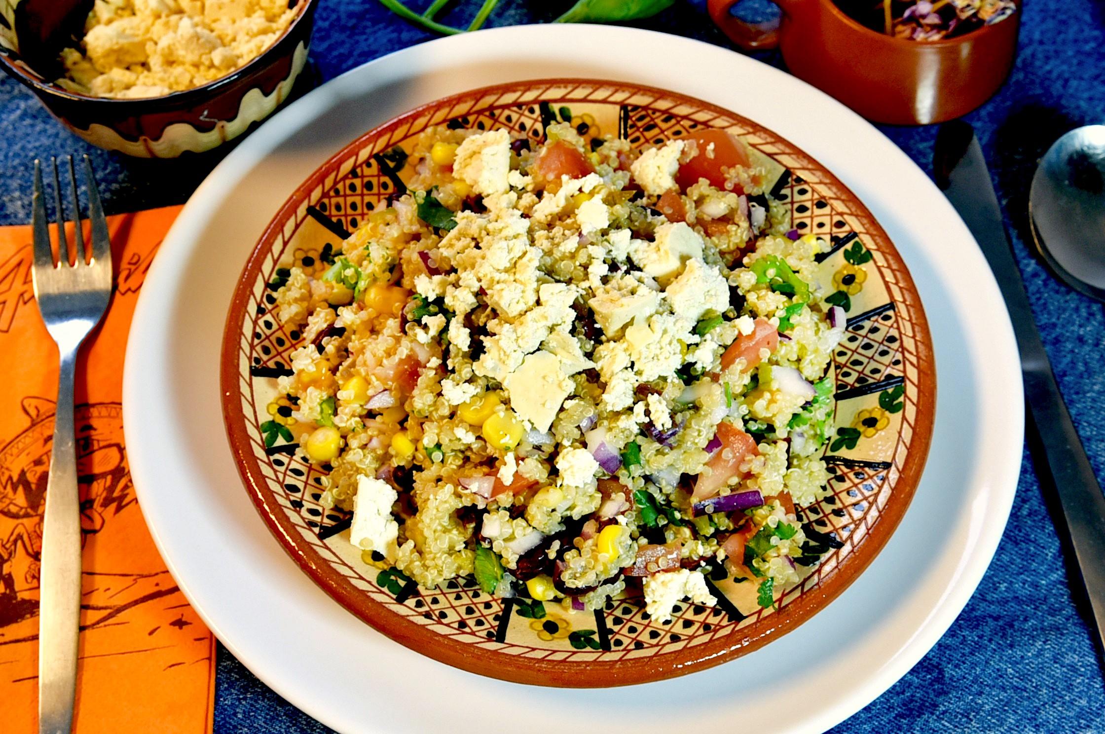 Mexicaanse quinoasalade